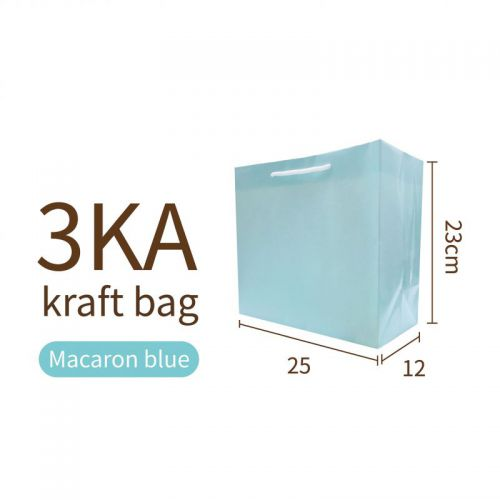 3KA-BLUE Kraft bag