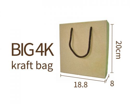 BIG 4K Kraft bag